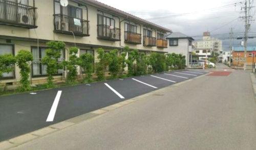 月極駐車場・長野市稲葉中千田