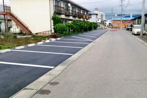 月極駐車場・長野市稲葉