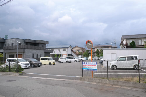 月極駐車場・長野市鶴賀